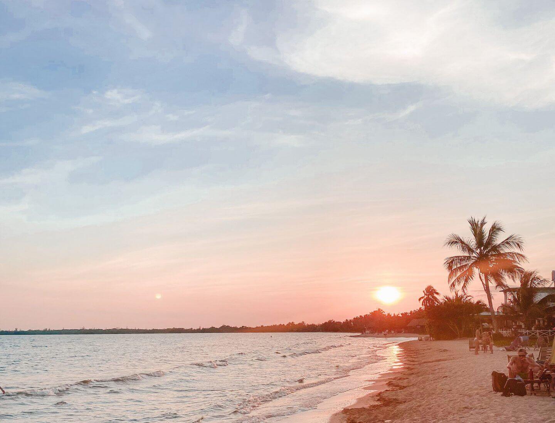 image of beach in Playa Larga, Cuba to start 2020 roundup