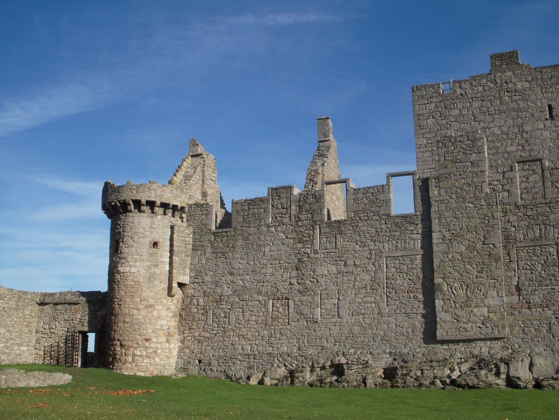 image of Craigmillar Castle, Outlander filming location