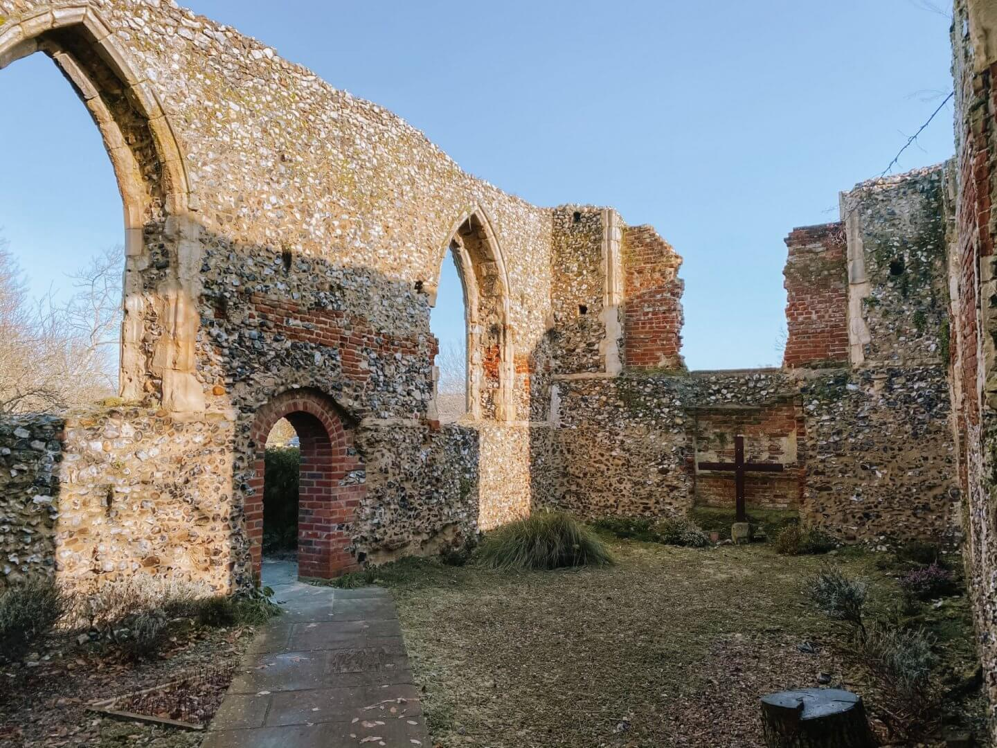 image of st Michael's ruin, Bowthorpe, Norwich.