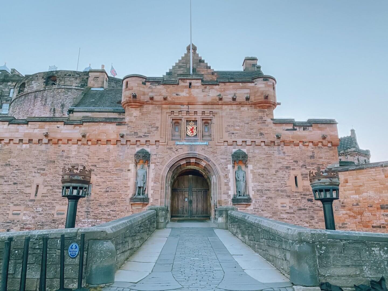 image of Edinburgh Castle - Castles in Scotland to Visit