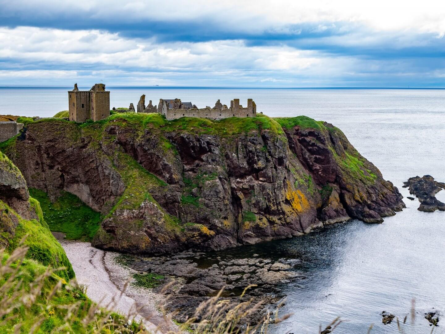image of Dunnottar Castle, Castles in Scotland to visit