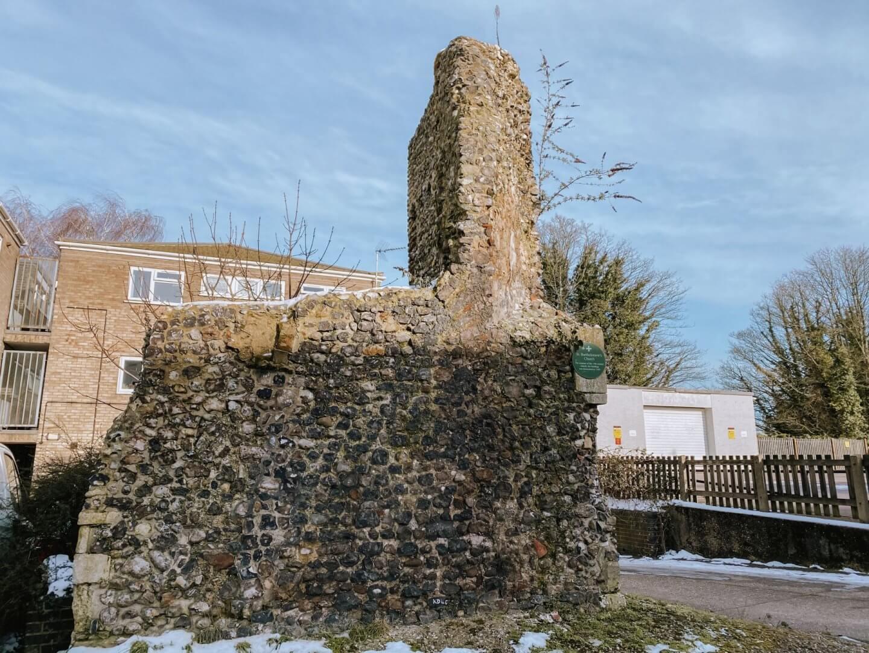 image of ruins of St Bartholomew's, Norwich, Norfolk