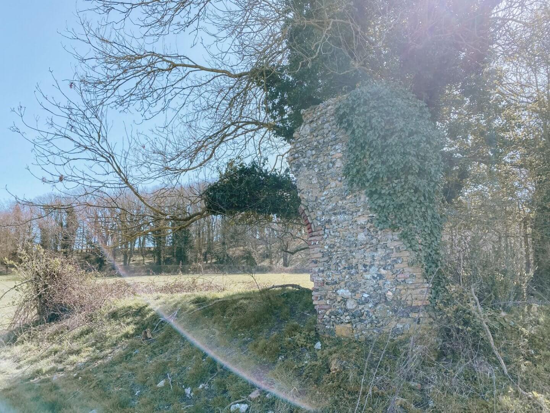 image of ruins of St Edmunds chapel, Lyng, Norfolk
