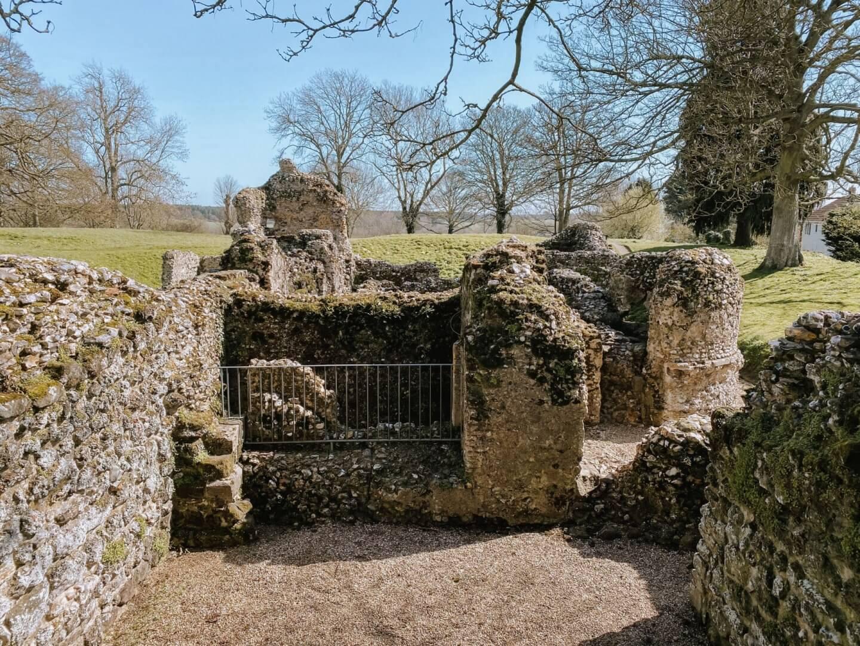 image of ruins of North Elmham chapel, Norfolk