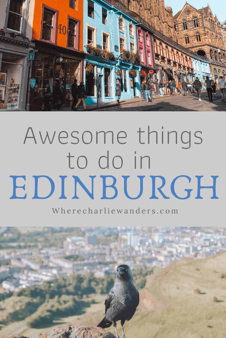 ten awesome things to do in Edinburgh