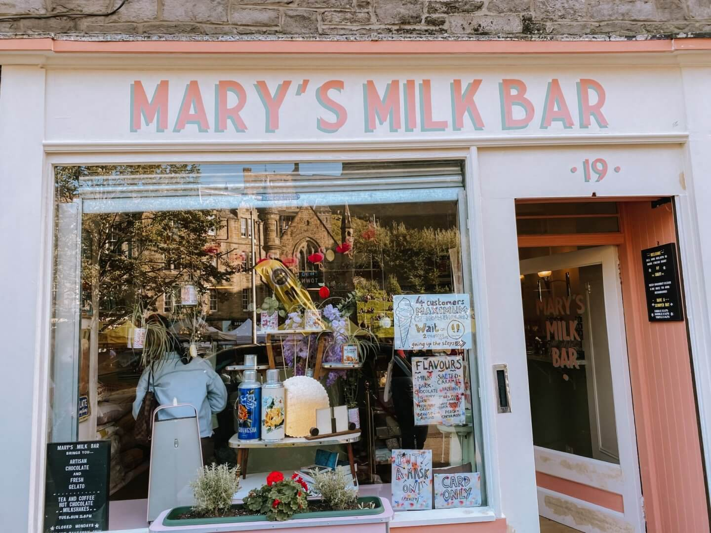 Image of Mary's Milk bar, one of the top things to do in Edinburgh