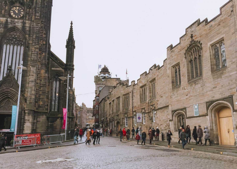Image of the Royal Mile in Edinburgh